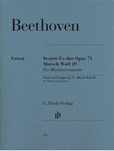 Picture of Sextet in E flat major Op 71 March WoO 29