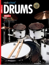 Picture of Rockschool Drums Grade 4 2012-2018