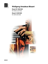 Picture of 2 Duos K 423-424 for Violin and Viola
