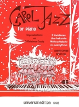 Picture of Carol Jazz for Piano Improvisations on 5 Christmas Carols