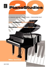 Picture of 20 Piano Studies in Classical Jazz and Popular Styles