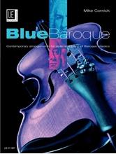 Picture of Blue Baroque Violin