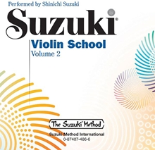 Picture of Suzuki Violin School Volume 2 CD