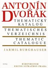 Picture of Dvorak Thematic Catalogue Czech/Ger/Eng Text