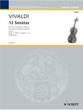 Picture of 12 Sonatas Op 2 Bk 1 Violin/Piano