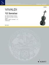 Picture of 12 Sonatas Op 2 Bk 2 Violin/Piano