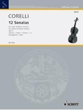 Picture of 12 Sonatas Op 5 Bk 1 Violin/Piano