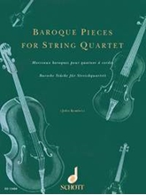 Picture of Baroque Pieces for String Quartet