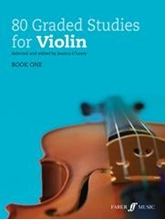 Picture of 80 Graded Studies for Violin Book 1