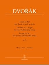 Picture of Terzetto in C Major Op 74 for 2 Violins & Viola