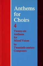 Picture of Anthems for Choirs 4 SATB