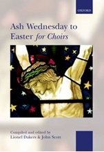 Picture of Ash Wednesday to Easter for Choirs SATB