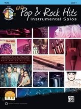Picture of Easy Pop & Rock Hits Instrumental Solos Violin Bk/CD