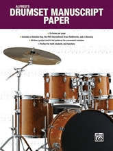 Picture of Alfred's Drumset Manuscript Paper
