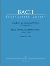 Picture of 3 Sonatas and 3 Partitas for Solo Violin BWV 1001-1006