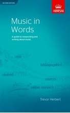 Picture of Music in Words Second Edition