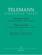 Picture of Twelve Methodical Sonatas Volume 3 Flute/Piano
