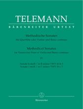 Picture of Twelve Methodical Sonatas Volume 4 Flute/Piano