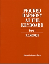 Picture of Figured Harmony at the Keyboard Part 1