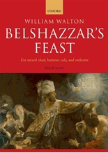 Picture of Belshazzar's Feast Vocal Score