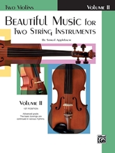 Picture of Beautiful Music for Two String Instruments Volume II - 2 Violins