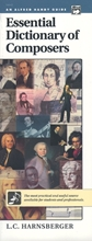Picture of Essential Dictionary of Composers