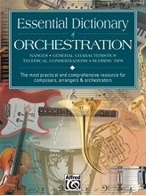 Picture of Essential Dictionary of Orchestration