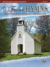 Picture of Favorite Hymns Instrumental Solos Violin Book/CD