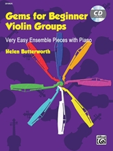 Picture of Gems for Beginner Violin Groups Book/CD