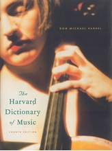 Picture of Harvard Dictionary of Music 4th Edition