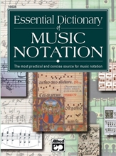 Picture of Essential Dictionary of Music Notation