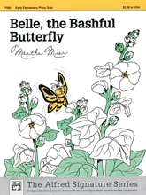 Picture of Belle the Bashful Butterfly - Piano Solo
