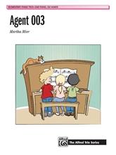 Picture of Agent 003 Piano Trio - 1 Piano 6 Hands
