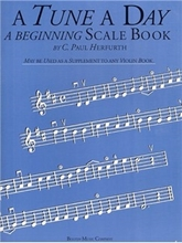Picture of A Tune a Day Violin Beginning Scale Book