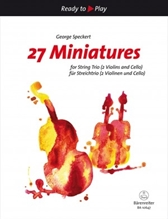 Picture of 27 Miniatures for String Trio