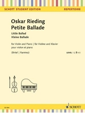 Picture of A Little Ballade for Violin and Piano