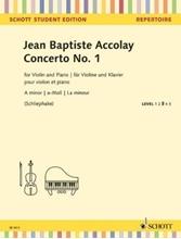 Picture of Accolay Violin Concerto No 1 in A Minor - Violin/Piano