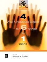 Picture of 4 Afro-Caribbean Pieces for 6 Hands at 1 piano