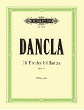 Picture of 20 Violin Etudes Brillantes Op 73