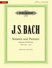 Picture of 6 Solo Violin Sonatas and Partitas BWV 1001-1006 ed Rostal