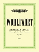 Picture of 40 Elementary Studies Op 54 for Violin