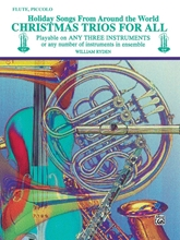 Picture of Christmas Trios for All Flute/Piccolo