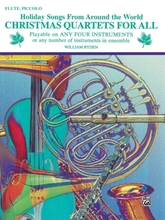 Picture of Christmas Quartets for All Flute/Piccolo