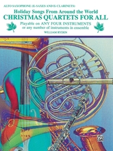 Picture of Christmas Quartets for All Eb Saxophone