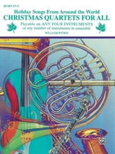 Picture of Christmas Quartets for All F Horn