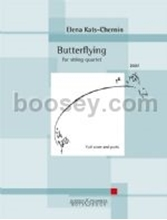 Picture of Butterflying for String Quartet Score/Parts
