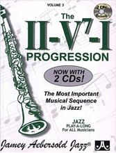 Picture of The II/V7/I Progression - Volume 3 Book/CD