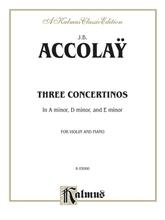 Picture of Accolay Three Concertinos - Violin/Piano