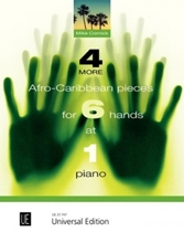 Picture of 4 More Afro-Caribbean Pieces for 6 Hands at 1 Piano