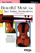 Picture of Beautiful Music for Two String Instruments Volume I - 2 Violins